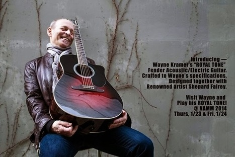 Wayne Kramer Set To Release New Album Lexington   artist development   Scoop.it