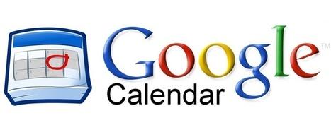 Google Agenda fait le plein de nouveautés | flux rss twitter g+  facebook | Scoop.it