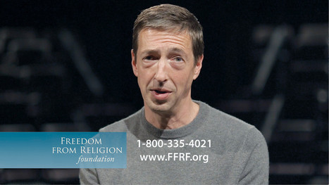 Ron Reagan, not afraid to burn in hell, promotes atheism in TV spot | Atheism Today | Scoop.it
