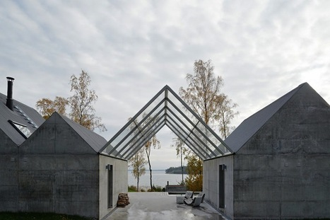 Reverse Glass and Concrete Home of Stockholm | Architecture and Architectural Jobs | Scoop.it