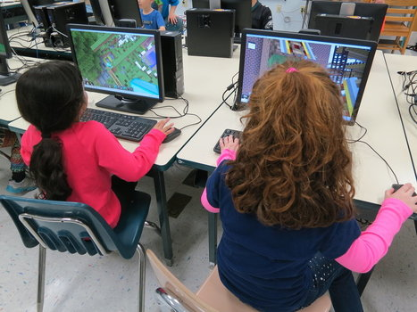 Teaching Your Kid to Read? Let Her Play Minecraft - Good.IS | Reading for all ages | Scoop.it