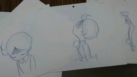 La fille de Tezuka a publié d'étranges dessins de son père - | MDBD | Scoop.it
