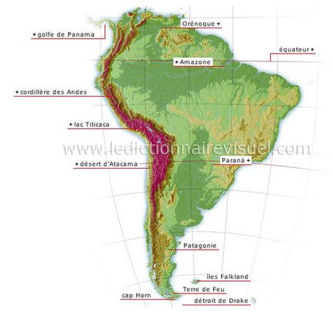 La faune des milieux aquatiques d'Amérique du Sud | Dictionnaire Visuel | Rescoop -Faune - Flore - Environnement | Scoop.it