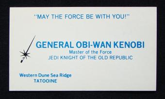 Les cartes de visites des héros de Star Wars   Printf   carte de visite mania   Scoop.it