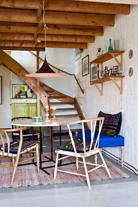 Une maison en bois rouge en Suède | | PLANETE DECO a homes worldPLANETE DECO a homes world | Décorations en tous genres | Scoop.it