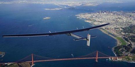 L'avion solaire Solar Impulse a achevé sa périlleuse traversée du Pacifique | Vous avez dit Innovation ? | Scoop.it