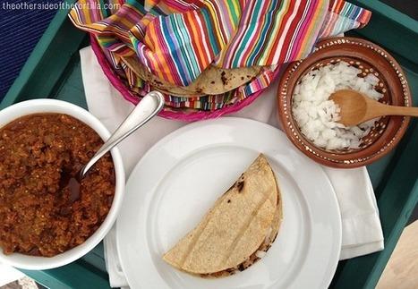 Tacos de longaniza en salsa verde | comida | Scoop.it