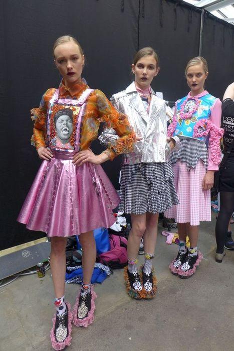 pastels! | Manchester School of Art @ Graduate Fashion Week | Scoop.it