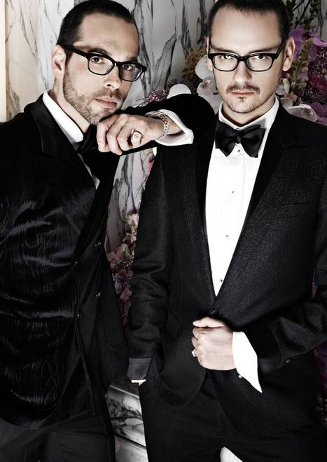 Dutch courage: Meet Viktor and Rolf, the off-the-wall designers behind fashion's weirdest creations | CLOVER ENTERPRISES ''THE ENTERTAINMENT OF CHOICE'' | Scoop.it