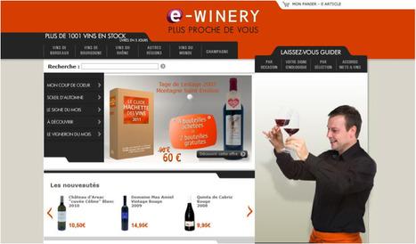 La Winery lance e-winery, son site internet de vente en ligne de vin : décryptage   Wine & Web   Scoop.it