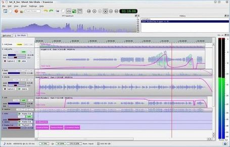 Traverso DAW, software gratuito para grabar y editar audio con versiones para Windows, Linux y Mac | Recull diari | Scoop.it
