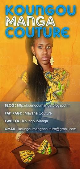 Koungou Manga Couture: FLYER DE LA COLLECTION PRINTEMPS / ÉTÉ 2014 - PREMIER DÉFILÉ DE LA MARQUE | Koungou Manga Couture | Scoop.it
