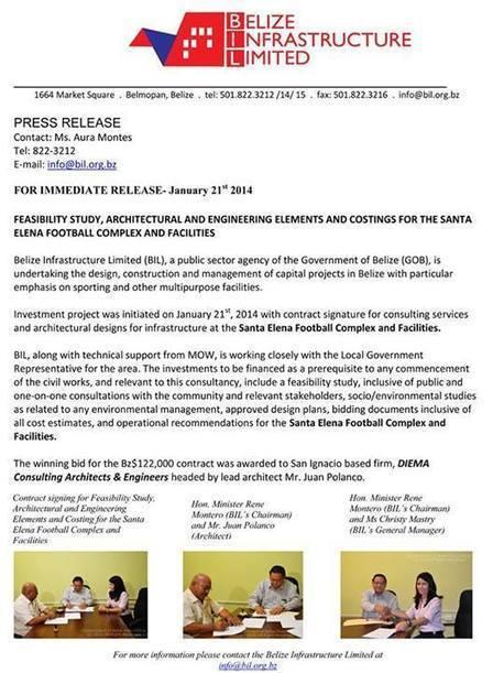 Santa Elena Football Stadium Upgrade | sports and recreation facility managememt | Scoop.it