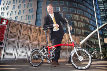 Folding bicycle hire - Join for £10 (reduced from £45) plus daily hire at £2.50 | The Michael Smith Building - Green Impact | Scoop.it