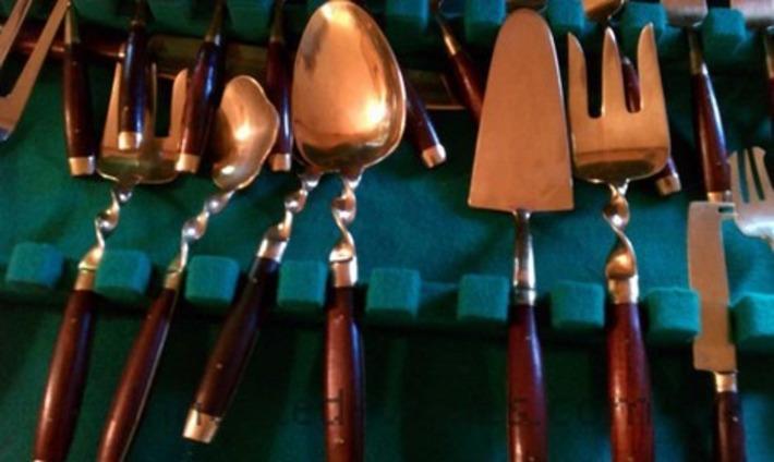 Vintage Bronzeware Flatware From Thailand | Antiques & Vintage Collectibles | Scoop.it