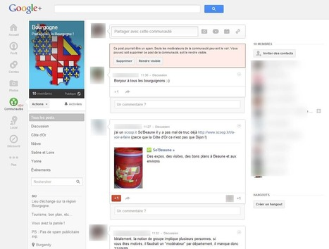 Google+ : comment créer votre page | How to be a community manager | Scoop.it