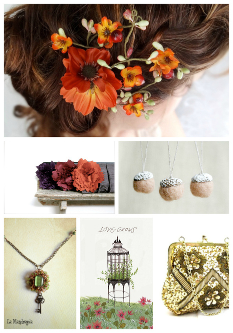 Petite Fraise Handmade: Inspirations of the day: wedding in Autumn | Go Wedding | Scoop.it