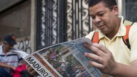 À Caracas, le manque de papier empêche les journaux de sortir   Les médias face à leur destin   Scoop.it