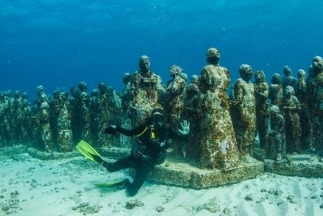 Un museo bajo el agua en Cancún, México | AGENCIA DE VIAJES ODTOURS | Scoop.it