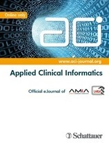 AMIA and Schattauer Publishers Announce New Collaboration - PR Web (press release) | Health and Biomedical Informatics | Scoop.it