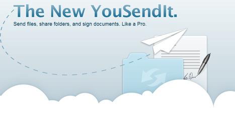 YouSendIt  | Compartiendo fichero de 50MB por email | santecTIC | Scoop.it