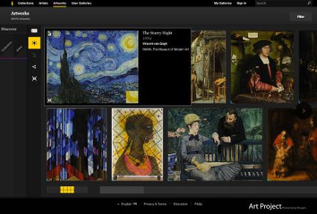 Art Project : encore plus d'oeuvres à découvrir en ligne | Art et Culture, musique, cinéma, littérature, mode, sport, danse | Scoop.it