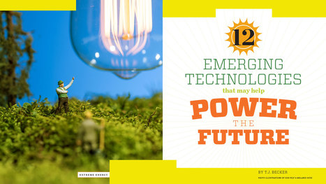 12 Emerging Technologies that May Help Power the Future | GT | Georgia Institute of Technology - Georgia Tech's Research Horizons | Solar Energy projects & Energy Efficiency | Scoop.it