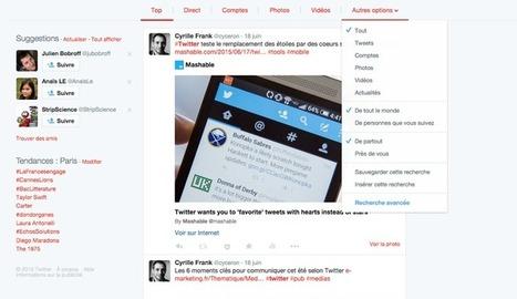 8 nouvelles fonctionnalités de Twitter que vous ne connaissez (sans doute) pas | Mobile technology & Digital business | Scoop.it