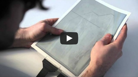 PaperTab: A Flexible Location-Aware E-Ink Screen Of The Future | Edudemic | :: The 4th Era :: | Scoop.it