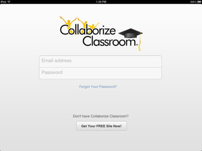 Collaborize Classroom Launches New iPad App: Get It A Day Early Here | iPad Apps for Middle School | Scoop.it