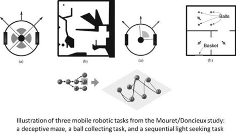 Behavioral diversity has evolutionary benefits... in robots | Social Foraging | Scoop.it