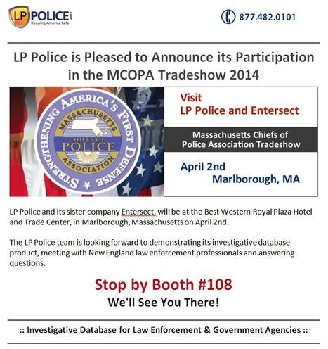 Massachusetts Chiefs of Police Association Tradeshow 2014   Law Enforcement Software   Scoop.it