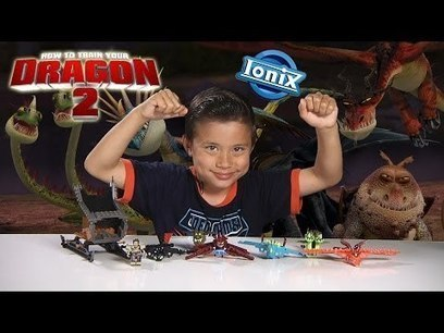 How to Train Your Dragon 2 TOOTHLESS VIKING ATTACK & Dragon MINIFIGURES by Ionix | EmGoldex | Scoop.it