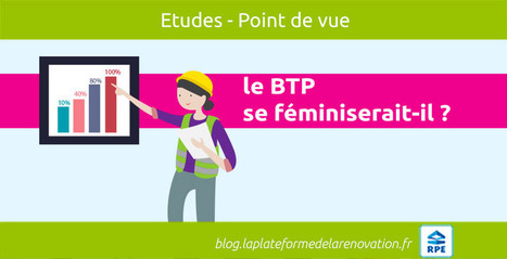 Le BTP se féminiserait-il en France ? | Transformation digitale du BTP | Scoop.it