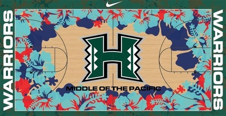 Twitter / AmazingSprtsPic: This Hawaii Warriors basketball ... | Basketball | Scoop.it