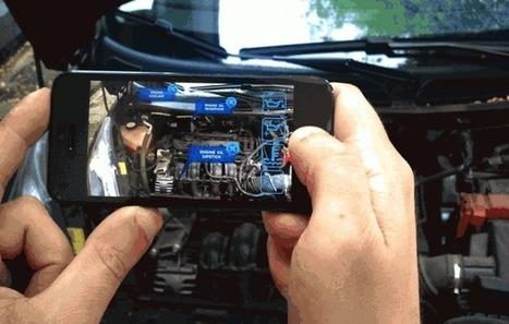 Usando Realidad Aumentada para arreglar coches   Realidad Aumentada   Scoop.it