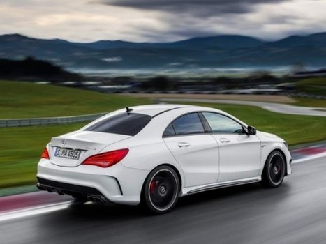 2014 Mercedes-Benz CLA45 AMG | Mercedes-Benz | Scoop.it