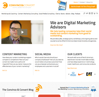 8 Things I'm Trying to Improve with This New Convince and Convert Website | Convince and Convert: Social Media Strategy and Content Marketing Strategy | Digital-News on Scoop.it today | Scoop.it