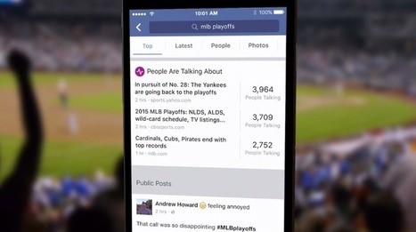 Facebook is unleashing universal search across its entire social network | Building a Web Presence | Scoop.it