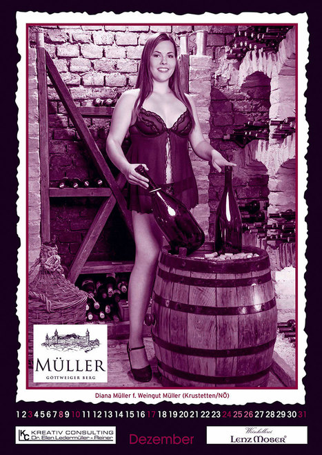 Austria's Model Winemakers Pose for Calendar | Vitabella Wine Daily Gossip | Scoop.it
