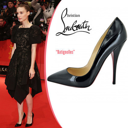 2013 Celebrity Christians Rooney Mara in Batignolles Louboutin Pump - Christian Louboutin Pumps / Burberry Check Shirts : Christian Louboutin Daffodile Pumps ,Burberry Shirts For Womens, Buy Christ... | Amazing Hello Kitty Bags | Scoop.it