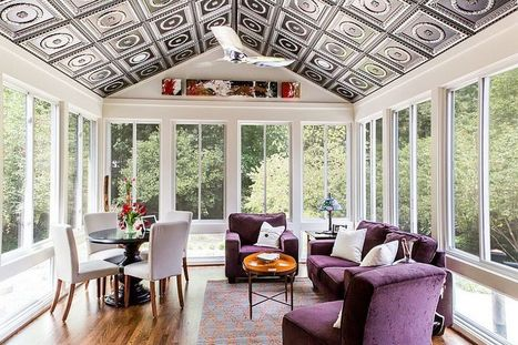 50 Contemporary Sunrooms With Charming Spaces   Decorating Ideas - Home Design Ideas   Scoop.it