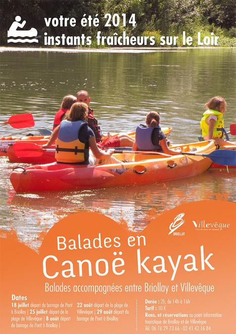 Balades canoë kayak - Villevêque | Villevêque, l'art de vivre au naturel | Scoop.it