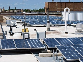 Bonus: Solar panels help keep buildings cool, reducing A/C needs | Sustainability and Sustainable Development | Scoop.it