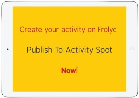 Frolyc | Authoring & Real-time Publishing On iPad For K-12 Teachers | Internet Tools for Language Learning | Scoop.it