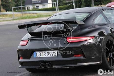 La GT3 RS : toujours plus ! - Flat6 Magazine | Porsche cars | Scoop.it