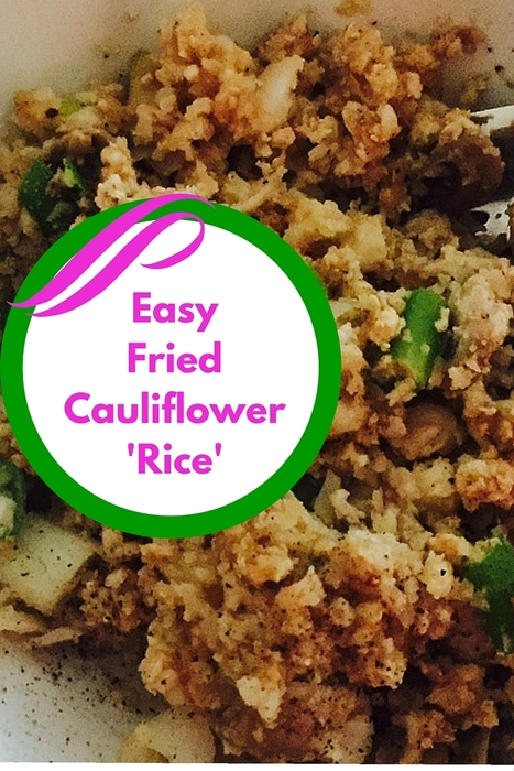 Egg Fried Cauli Rice Recipe | Best Easy Recipes | Scoop.it