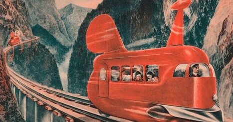 vintage everyday: 14 Real and Visionary Historic Monorail Designs | Railway anthology | Scoop.it
