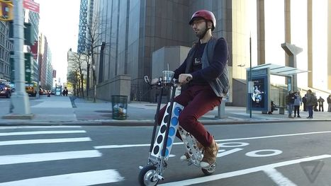 This silly-looking electric scooter just slayed my commute | Future Technologies | Scoop.it