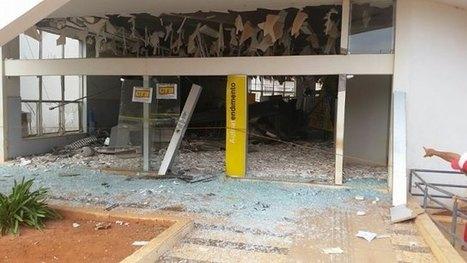 Bandidos explodem agência do Banco do Brasil em Central (BA). | Lucas Souza Publicidade | Scoop.it
